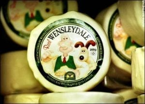 Wenslydale cheese
