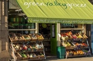 Green Valley Grocer shop front