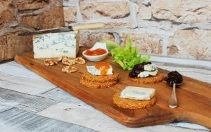 Cheese, crackers and chutney