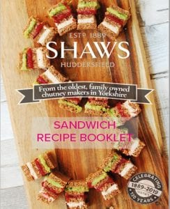 Sandwich Recipe Booklet