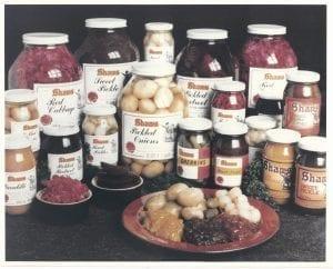 Shaws product range 1970