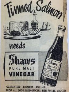 Vinegar advert
